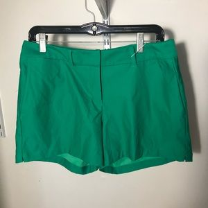 NWT Nike women's flex golf shorts green Sz 8